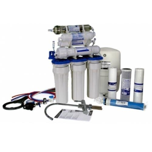 Sistem filtrare osmoza inversa cu sterilizator UV