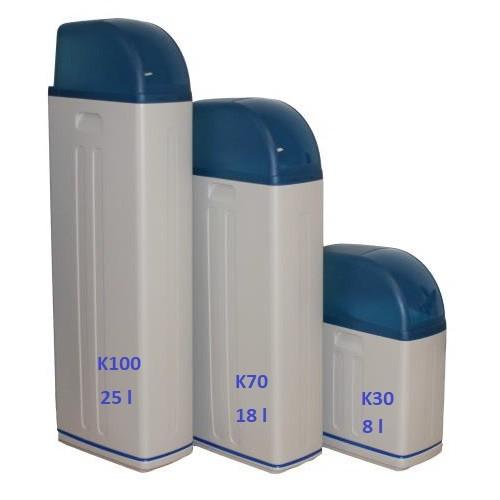 Dedurizator apa potabila cabinet slim TBS-K100/VR1